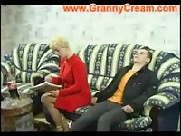 Blonde Mature Mother and boyfriend