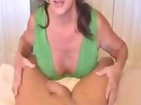 Cum in Mother Mouth