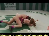 Lesbian Nude Fight Go to Sexual Domination