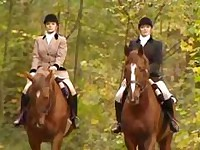 Smoking Hot Lesbian Horse Trainers