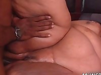 Fat ebony hoe Farrah Foxx gets pounded