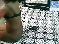 Indian Punjab wife horny and fucked by hubby friend