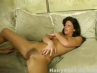 Horny MILF bush needs action