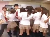 A Group Schoolmate Fuck Party Orgy Sex