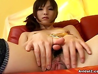 Clean Pussy Arisa Suzuki Showing Off Her Pussy