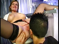 anal with bar woman blonde troia culo
