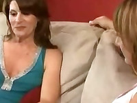 2 Hot MILFs Fuck Lucky Guy