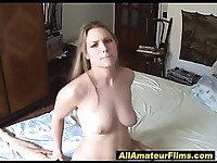 amateur slut likes to get fucked for camera