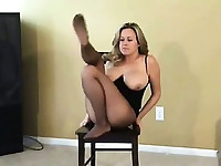 Brandy Taylor in Pantyhose