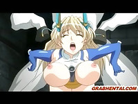 Hentai Princess with bigtits brutally doggystyle fucked by horse monster