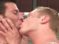 Sporty twinks suck and fuck their pricks hard