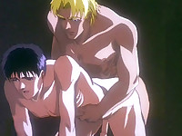 Anime gay pumping action to the max