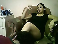 Egyptian mistress humilate a guy
