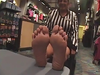 mature footlocker soles