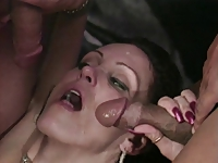 Candy Vegas Threesome