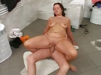 Mature Redhead Gets Her Fix
