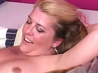 tongue fucked hairy mature snatch