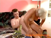 Mature divorcee fucked by nice stud
