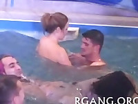 Nice group sex action