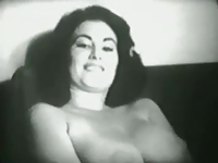 Vintage striptease No.1