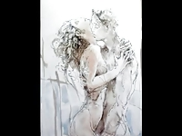Erotic Watercolors of Juergen Goerg