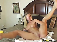 HOT Blond Gets Really Wet HD
