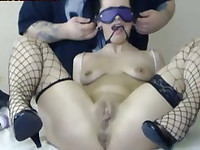 Submissive Wife Gagged And Spanked