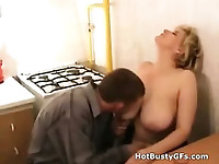 Drunk Milf Sucks Teens Cock