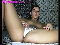 Hot Webcam Girl Rips Panties And Squirts