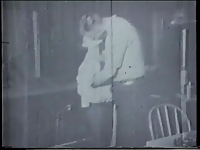 Vintage film of blow job and fuck in the saloon
