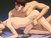 Cute anime gay gets bareback fucked