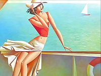 Erotic Paintings of  Georgy Kurasov