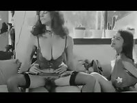 Kay Parker, Laura Lazare and R.Bolla THREESOME scene.