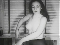 Vintage Stripper Film - Casbah Slave Girl