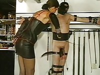 Mistress treating her subject