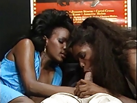 American Interracial 80s Threesome