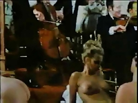 Vintage Dinner Party Orgy