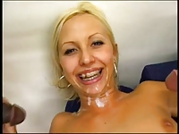 Cumshots in nice Faces