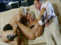 Brigitta Bulgari in Threesome (FFM)