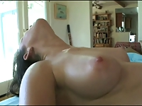 Sexy Brunette Gets A Rub Down With Extras!!!!!!!