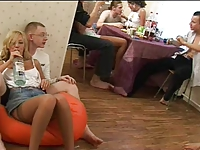 Orgy with young russian people