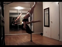 Sexiest Pole Dance Before Fucking